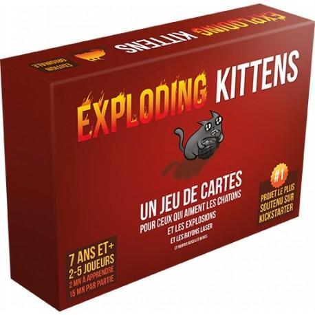 Exploding Kittens - décellophané