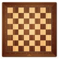 Chess mat (wood style)