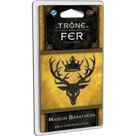 Deck d'introduction Trône de Fer LCG : Maison Baratheon