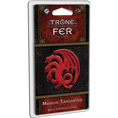 Deck d'introduction Trône de Fer LCG : Maison Targaryen
