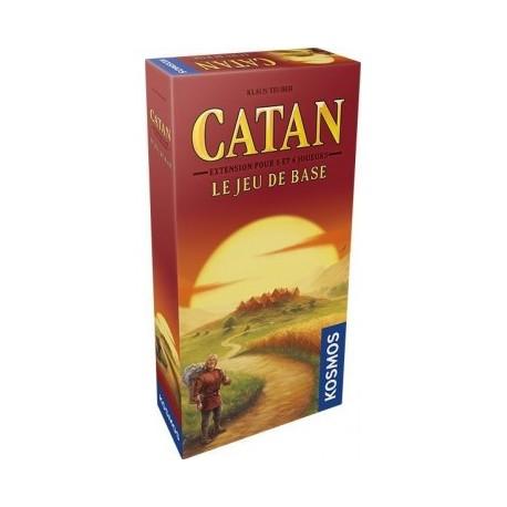 Catane extension 5/6 joueurs