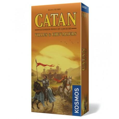 Catane - Villes et Chevaliers - extension 5-6 joueurs