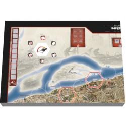 Stalingrad Inferno on the Volga mounted map