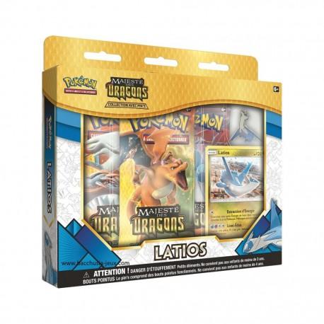 Coffret Pokémon 3 boosters 7.5 + pins Latios