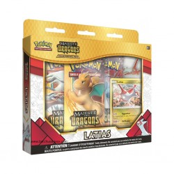 Coffret Pokémon 3 boosters 7.5 + pins Latias