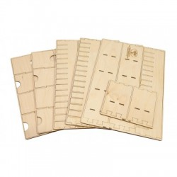 Euro Card Organizer for Wooden Artist Case