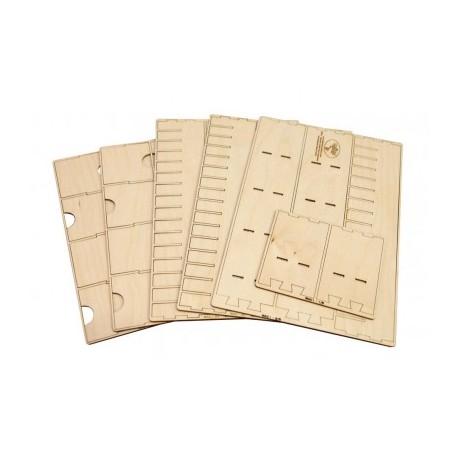 Euro Card Organizer for Wooden Artist Case