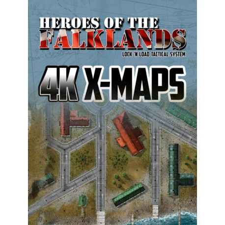 Heroes of the Falklands 4K X-Maps