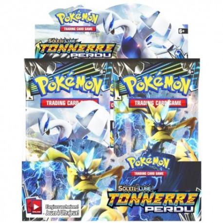 Display 36 Boosters Pokémon SL8 Tonnerre Perdu