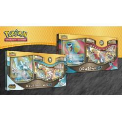 Pack des 2 Coffrets Pokémon Drattak GX et Kyurem Blanc GX pas cher