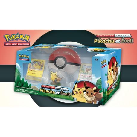Collection Pokéball Pikachu & Évoli