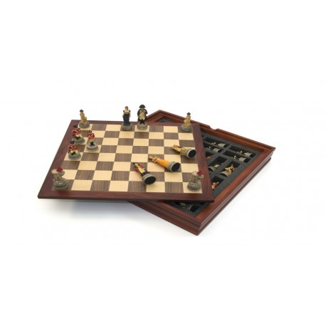Historical Chess box : Napoleon Vs Wellington