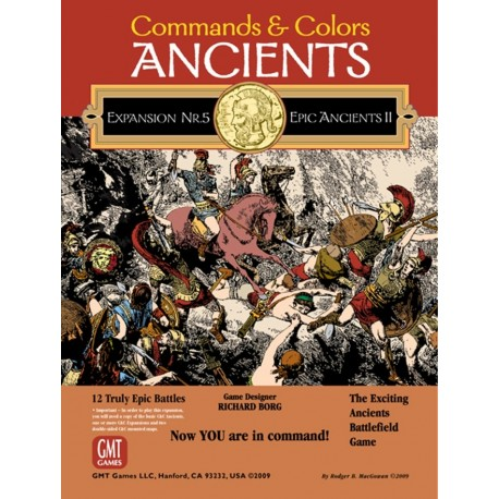 Command and Colors Ancients n°5 : Epic Ancients