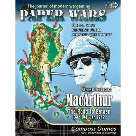 Paper Wars 90 - MacArthur: The Road to Bataan
