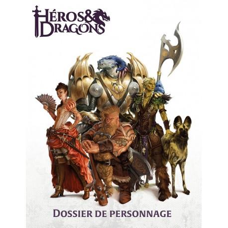 Héros & Dragons: Dossier de Personnage