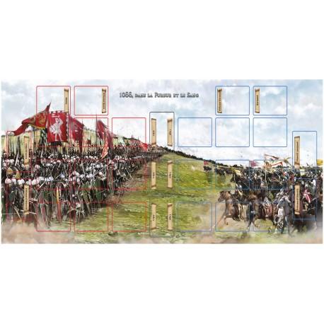 1066 - Dans la Fureur et le Sang - tapis de jeu