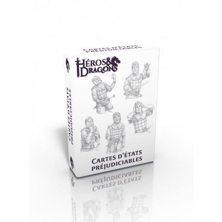 Héros & Dragons: Cartes d'états préjudiciables