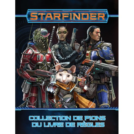 Starfinder - Collection de pions : Livre de base