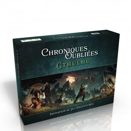 Chroniques Oubliées Cthulhu - Boite d'initiation