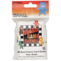 100 Board game Sleeves 44x68mm