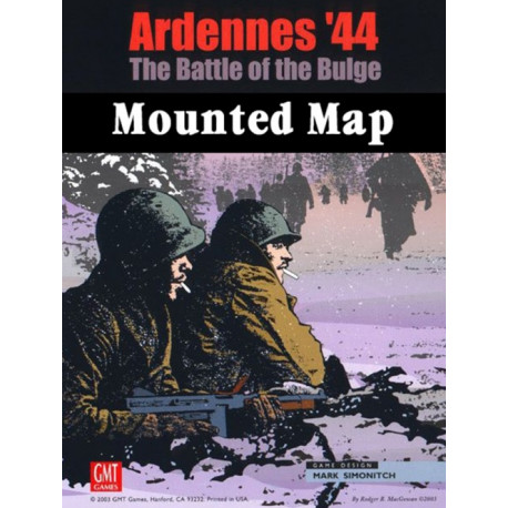 Ardennes 44 Mounted Map