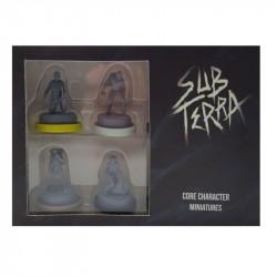 Sub Terra - Miniatures des personnages