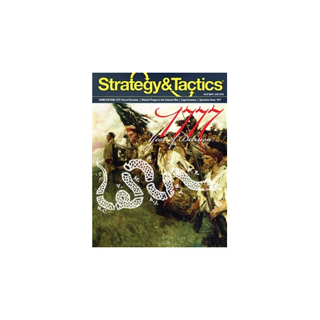 Strategy & Tactics 316 : The Campaigns of 1777
