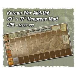 Warfighter WWII Pacific Korean War Neoprene mat