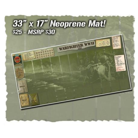 Warfighter WWII Pacific Neoprene mat