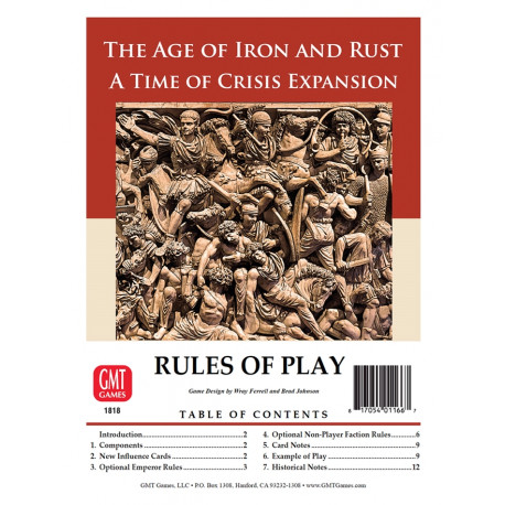 Time of Crisis : The Age of Iron and Rust