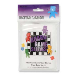 100 Board game Sleeves 65x100mm
