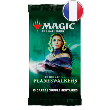 Magic the Gathering : La Guerre des Planeswalkers - Booster FR