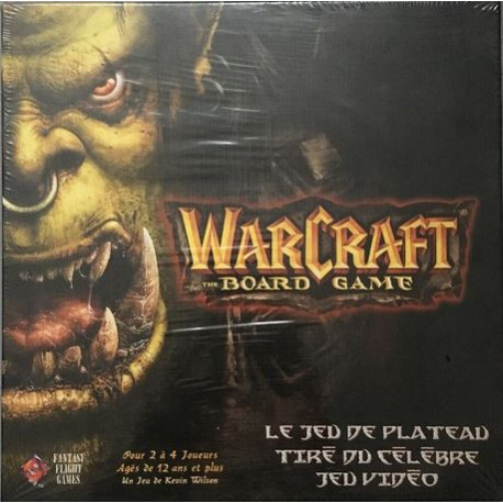 Warcraft the Board Game + extension - VF - Occasion