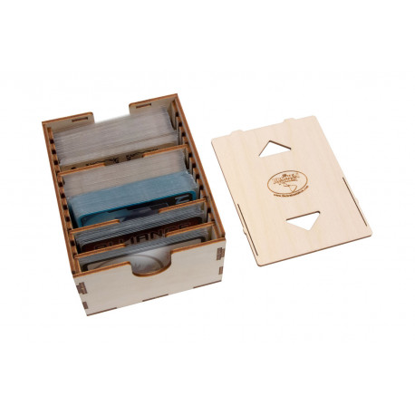 casier de rangement de cartes format standard
