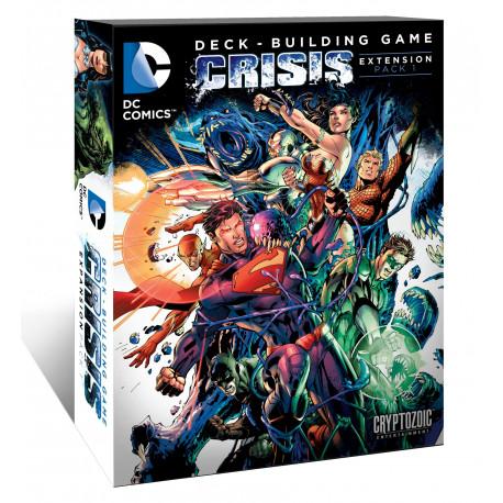 DC Comics - jeu de Deck Building - extension Crisis