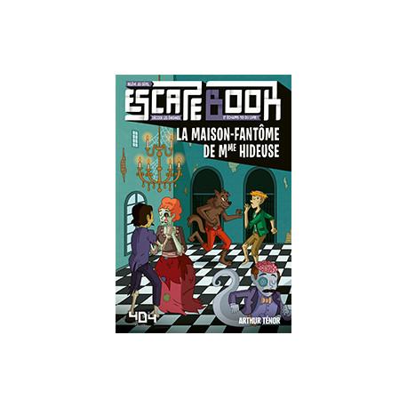 Escape Book Jr : La Maison Fantôme de Mme Hideuse