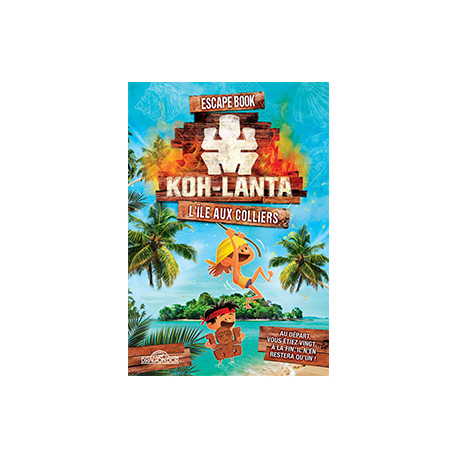 Escape Book Jr : Koh Lanta – L'île aux colliers