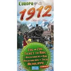 Les Aventuriers du Rail - Europe 1912