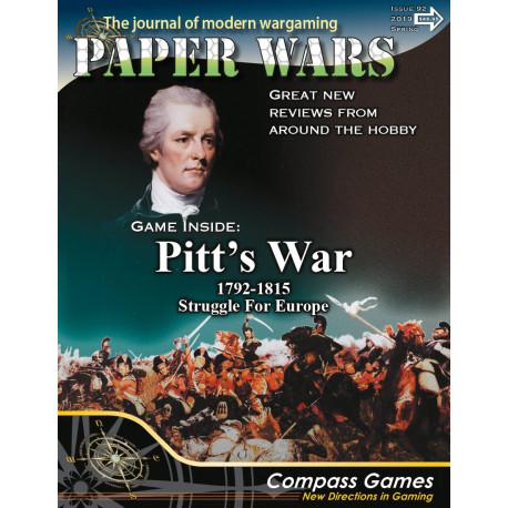 Paper Wars 92 - Pitt's War