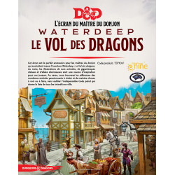 D&D 5 - Écran Waterdeep : Le vol des dragons