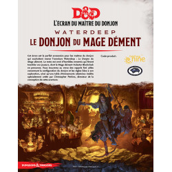 D&D 5 - Screen Waterdeep : Le Donjon du Mage Dément