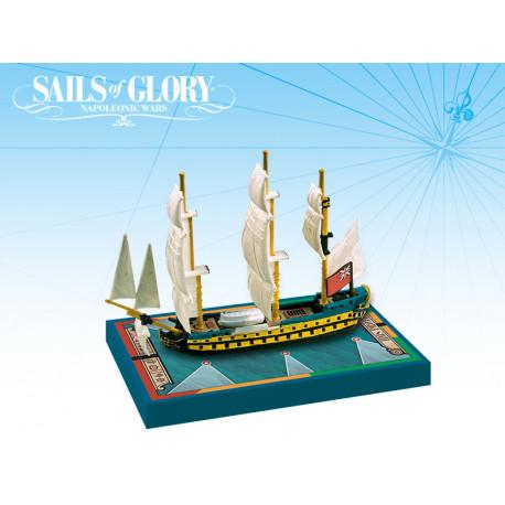 Sails of Glory - HMS Protée 1780 - HMS Argonaut 1782