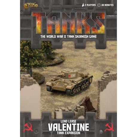 TANKS • Soviet Lend Lease Valentine