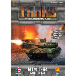 TANKS The Modern Age : The M1 vs T-64 Starter Set