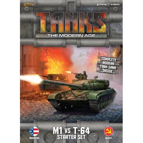 TANKS The Modern Age : The M1 vs T-64 Starter Set