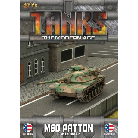 TANKS The Modern Age : M60 Patton Tank Expansion