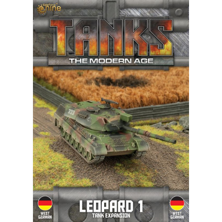TANKS The Modern Age : Leopard 1 Tank Expansion