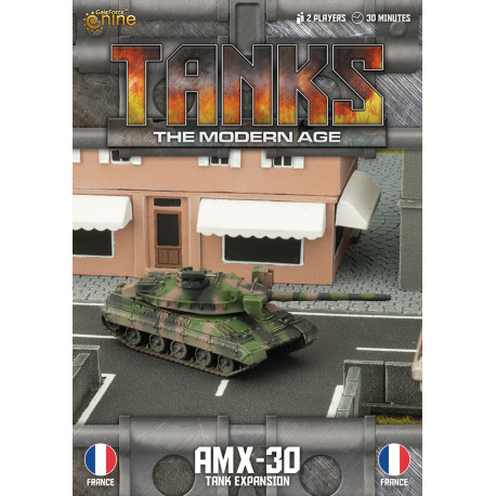 TANKS The Modern Age : AMX-30 Tank Expansion