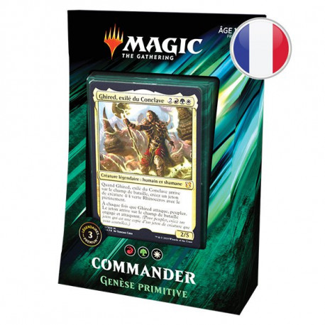 Magic Commander 2019 : Genèse Primitive
