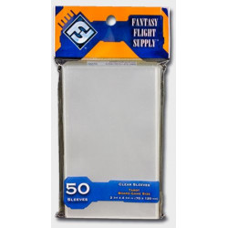 50 Protège Cartes Tarot 70x120mm FFG